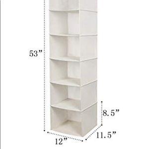 Storage & Organization - Hanging Closet Organizer | Space Saver | Storage